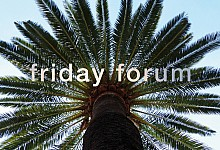 Friday Forum #1