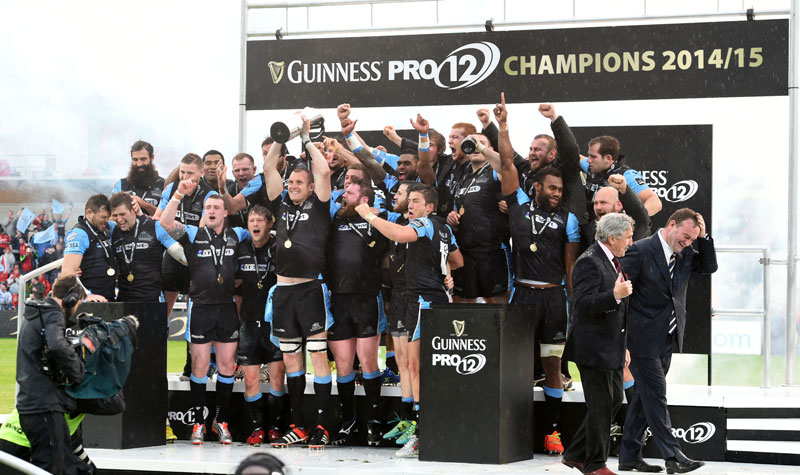 Glasgow Warriors win Guinness Pro12 title