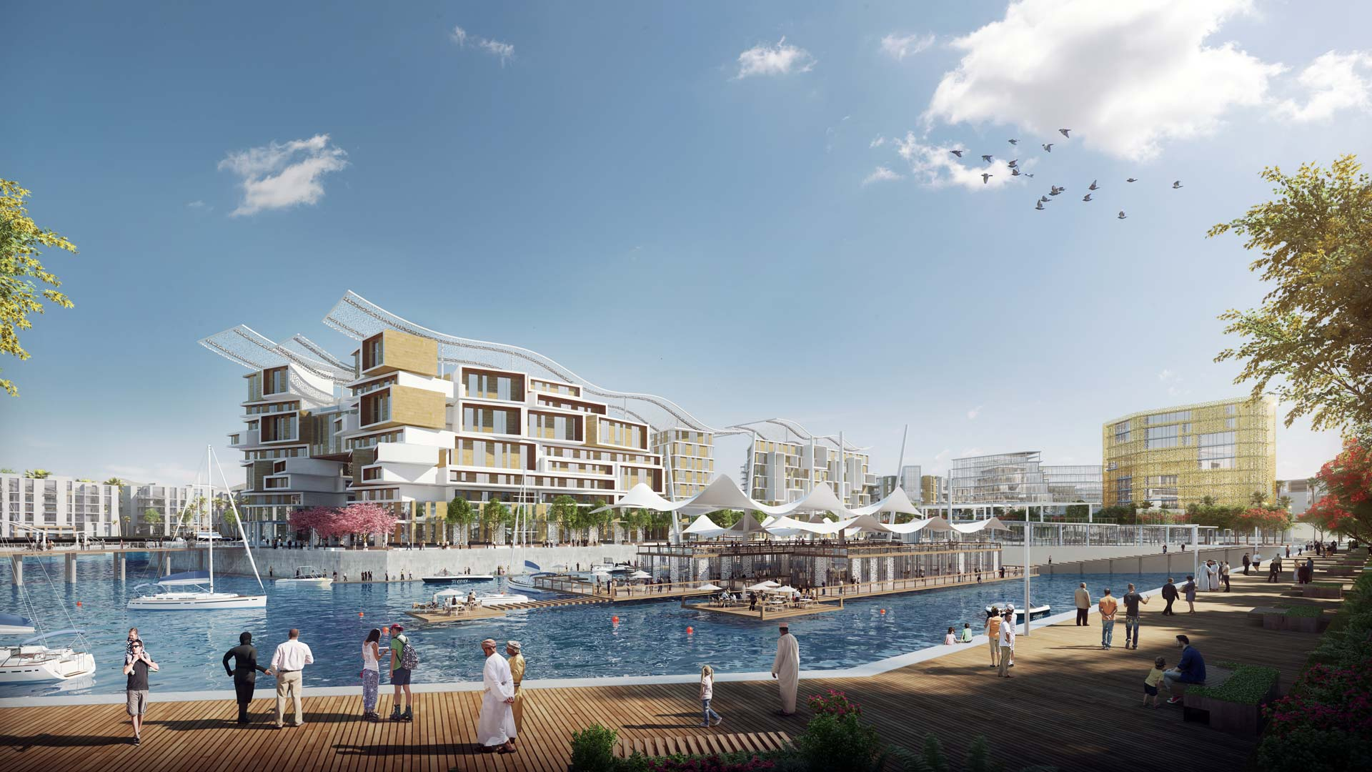 Image of the Sector JK Masterplan designed by Kettle Collective Architects