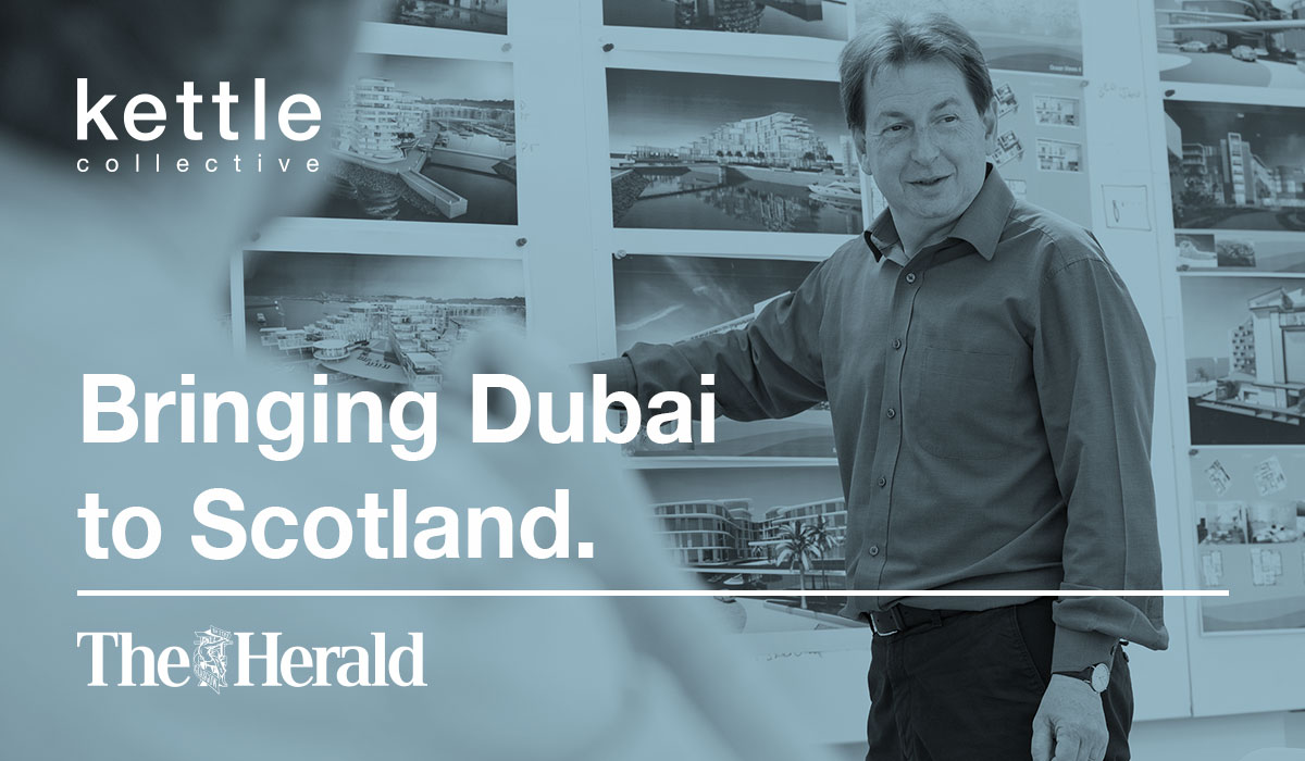 Falkirk Wheel Architect is Bringing Dubai to Scotland