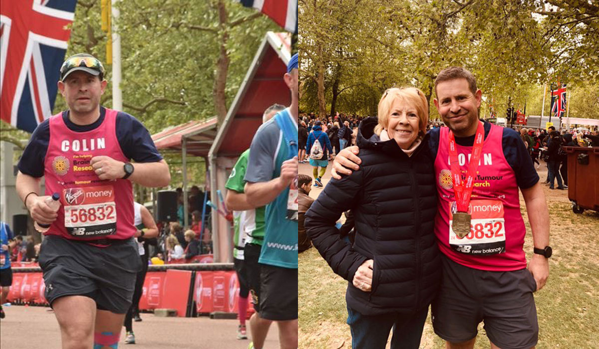 Colin Completes the London Marathon