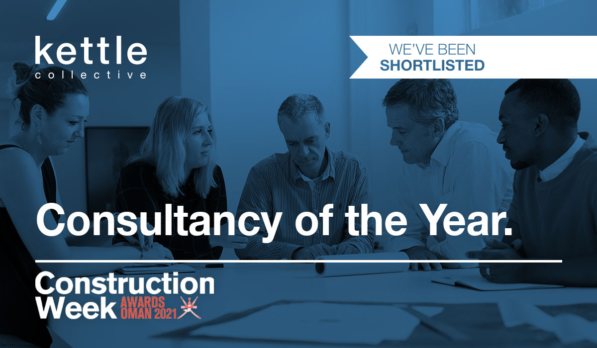 Shortlisted at the Construction Awards Oman 2021